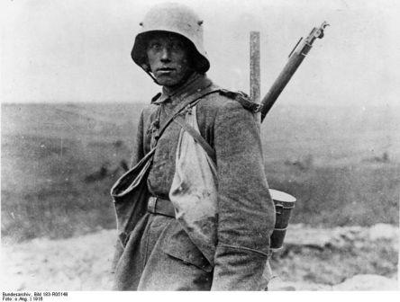 Ein deutscher Held von 1916