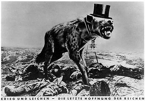 John Heartfield: Krieg und Leichen (1932)