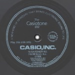 The Casiotone 202 (Flexi, 1981)