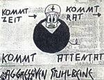 Die Aggressiven Stuhlbeine: Kommt Zeit, kommt Rat, kommt Attentat (Demo-MC, 1987)