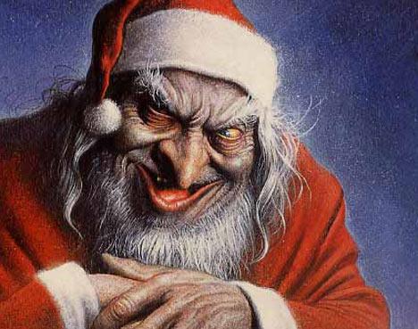 Er ist ein kranker Psychopath, der Heiligabend Ausgang hat